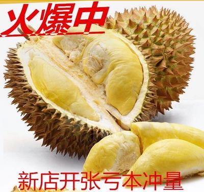 广西壮族自治区崇左市凭祥市泰国榴莲 60 - 70%以上 4 - 5公斤