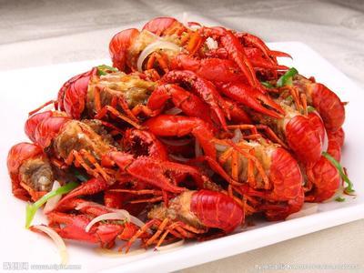 这是一张关于中国龙虾 国产 0.8-1斤/只的产品图片