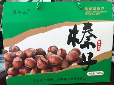 黑龙江省七台河市茄子河区榛子 18-24个月 礼盒