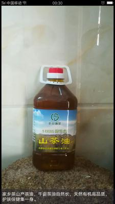 广西壮族自治区贵港市港南区有机山茶油 5L