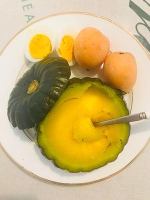这是一张关于贝贝南瓜 0.4~0.6斤 扁圆形 的产品图片