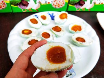 安徽省阜阳市临泉县麻鸭蛋 食用 礼盒装