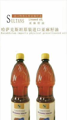 吉林省延边朝鲜族自治州汪清县冷榨亚麻籽油