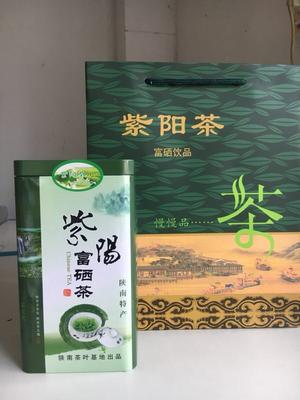 陕西省安康市紫阳县陕南绿茶 罐装 特级