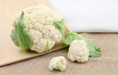 河南省周口市川汇区有机花菜 紧密 3~4斤 乳白色