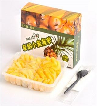 河北省秦皇岛市海港区泰国冷冻小蜜菠萝