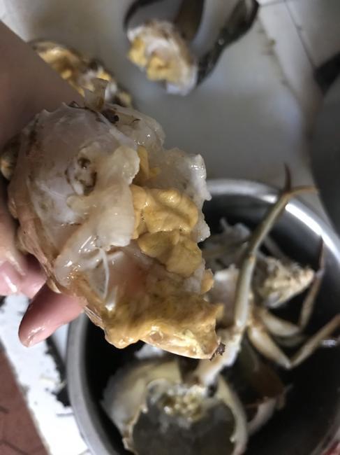 青蟹 6.0两 统货