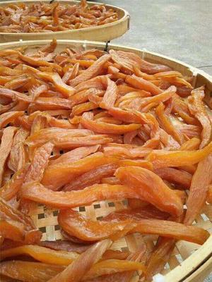广东省清远市连南瑶族自治县黄金红薯干 条状 散装 半年