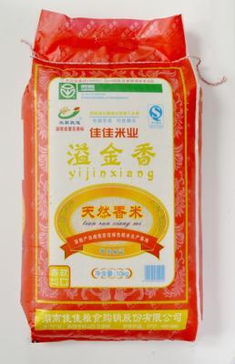 这是一张关于黄花粘大米 一等品 晚稻 籼米的产品图片