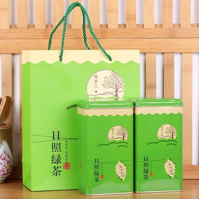 这是一张关于日照绿茶 一级 礼盒装的产品图片