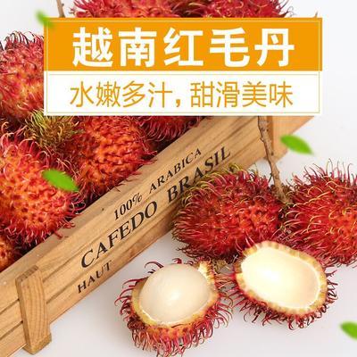 广西壮族自治区崇左市凭祥市泰国红毛丹 越南5斤包邮净重4斤
