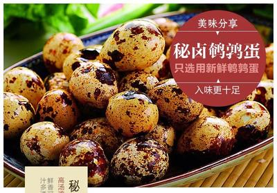 江苏省泰州市海陵区梅香香卤鹌鹑蛋 食用 散装