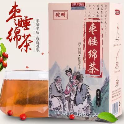 安徽省亳州市谯城区助神茶 枣睡绵茶 代用茶