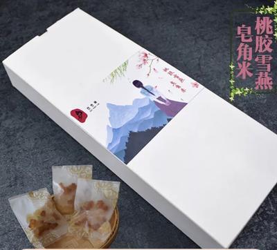 安徽省亳州市谯城区食用桃胶 桃胶皂角米雪燕组合盒