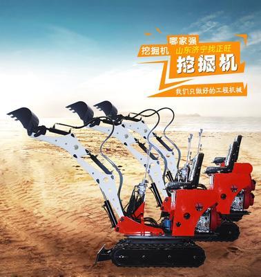 山东省济宁市任城区挖坑机 小型大棚挖坑机