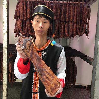 重庆石柱土家族自治县五花腊肉 散装 重庆石柱三线五花腊肉