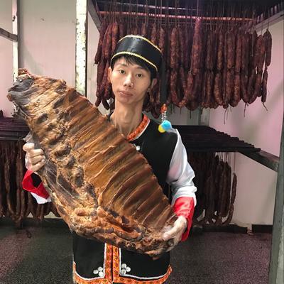 重庆石柱土家族自治县腊排骨 散装 重庆石柱烟熏腊排骨