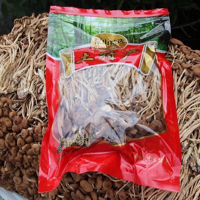 福建省宁德市古田县干茶树菇 1年 散装 未开伞茶树菇500克