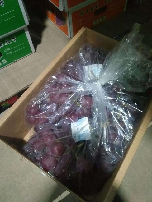 巨峰葡萄 0.8-1斤 5%以下 2次果  约5.0斤/箱