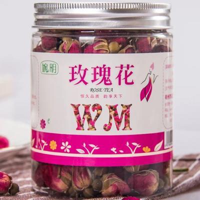 安徽省亳州市谯城区玫瑰花茶 罐装 50克 平阴玫瑰王