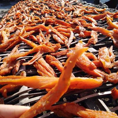湖南省永州市宁远县红心红薯干 1年以上 条状 散装