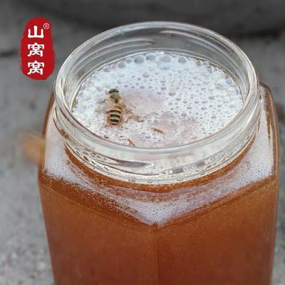 山东省临沂市费县土蜂蜜 100% 2年以上 玻璃瓶装 丹参土蜂蜜