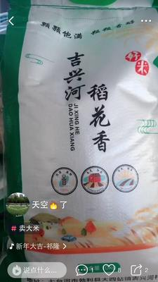 黑龙江省七台河市勃利县稻花香二号大米 二等品 晚稻 粳米