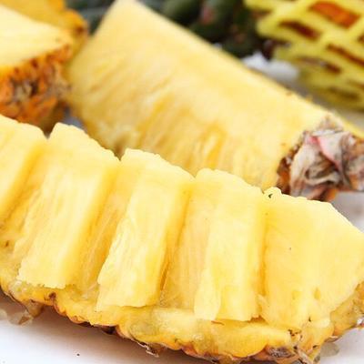 这是一张关于海南菠萝 1.5 - 2斤 的产品图片