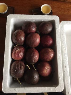 这是一张关于紫香一号百香果 50 - 60克 的产品图片