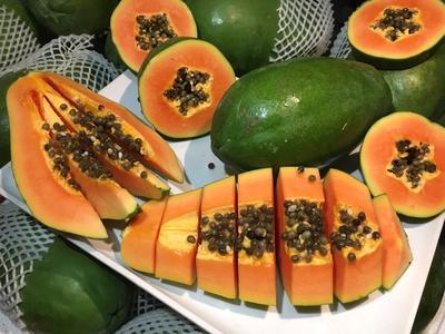 海南省海口市琼山区红心木瓜 1 - 1.5斤 一级果精选打包