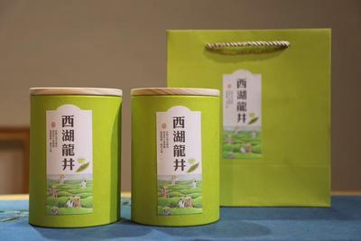 福建省泉州市安溪县西湖龙井茶 特级 罐装
