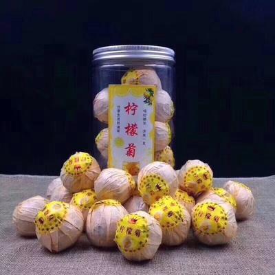 福建省泉州市安溪县柠檬菊花茶 一级 罐装