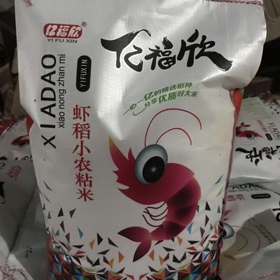 黄花粘大米 湖北洪湖虾稻小农粘香米