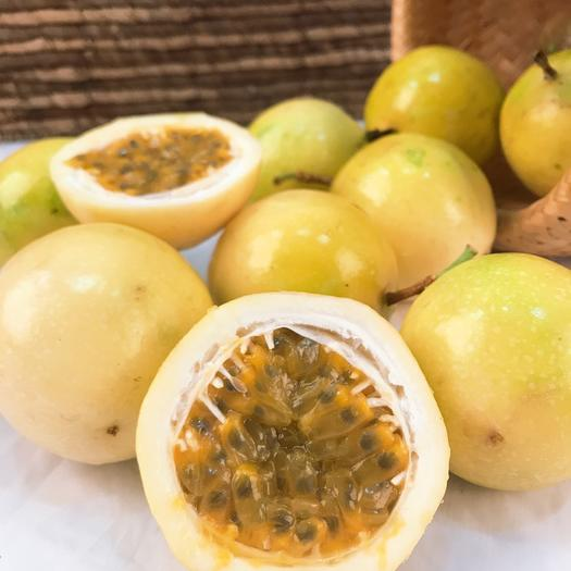 秒杀:黄金百香果3斤装/5斤装 中大果 果园直供 可代发