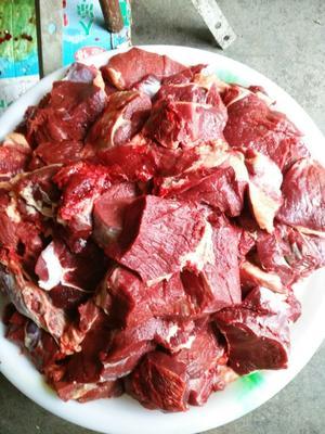陕西安康牛肉 6-12个月 原生态黄牛肉