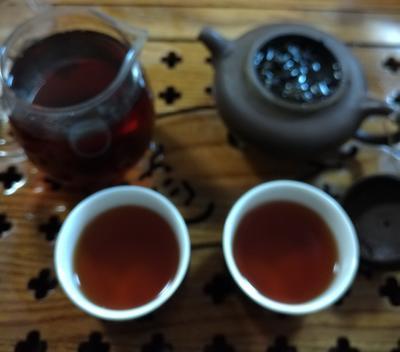 湖南益阳安化黑茶 袋装 熟茶