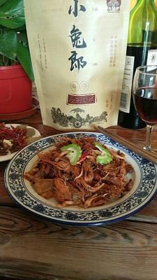 江苏徐州兔肉 熟肉 6-12个月 小兔郎200克真空包装即食兔肉!