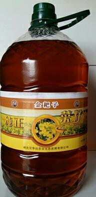 湖北黄冈压榨菜籽油
