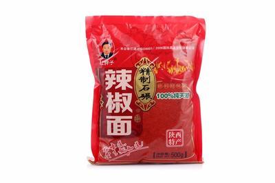 陕西咸阳线椒粉 陕西兴平特级品辣椒粉/面小袋一斤装