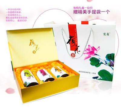 湖北荆州荷叶茶 礼盒装