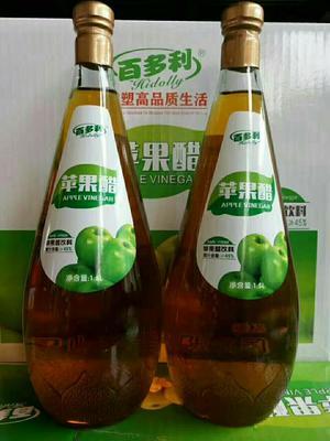 这是一张关于果醋饮料 6-12个月 玻璃瓶 苹果醋的产品图片