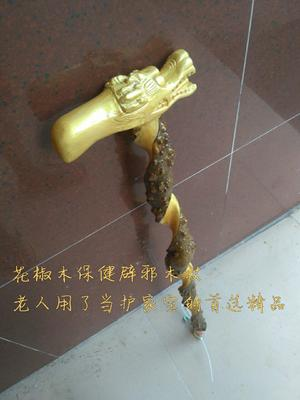 广东茂名木质工具 花椒木老人拐杖