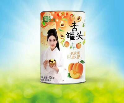 这是一张关于蔬果罐头 6-12个月 杏子罐头的产品图片