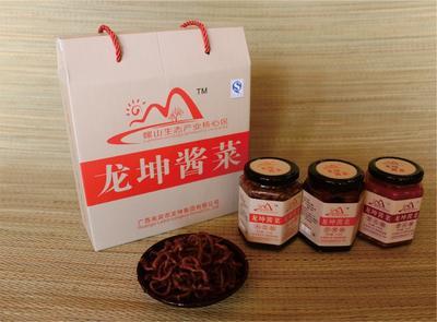 广西来宾开胃菜 龙坤酱菜