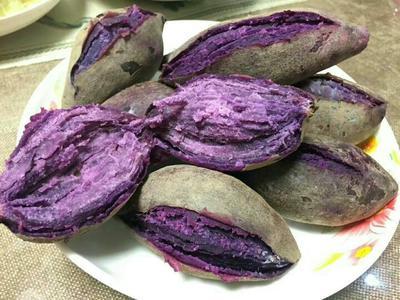 广西南宁越南紫薯 2两以下 5斤装包邮