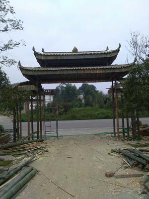 这是一张关于竹片 竹木建筑装饰的产品图片