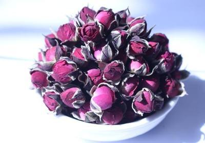 内蒙古呼和浩特金边玫瑰茶 罐装