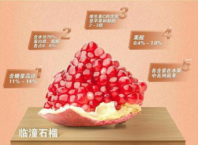 陕西西安临潼石榴 0.6 - 0.8斤