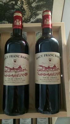 河北保定葡萄酒 法国原瓶进口弗朗巴顿干红