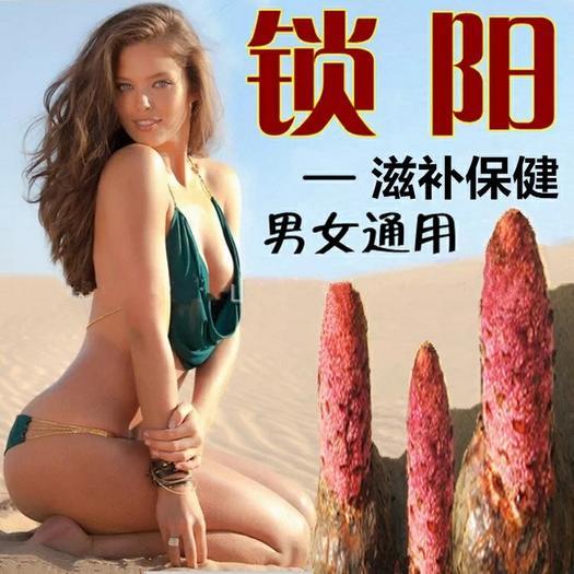 沙漠锁阳野生切片金锁阳整根男性泡茶泡酒料配肉苁蓉更佳500g
